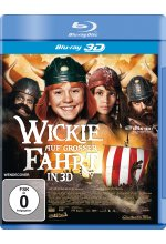 Wickie auf großer Fahrt in 3D Blu-ray 3D-Cover
