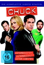 Chuck - Staffel 4  [5 DVDs] DVD-Cover