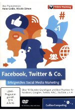 Facebook, Twitter & Co - Erfolgreiches Social Media Marketing (PC+MAC+Linux) Cover