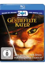 Der gestiefelte Kater  (+ Blu-ray) (+ DVD) Blu-ray 3D-Cover