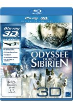 Odyssee durch Sibirien 3D Blu-ray 3D-Cover