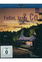 Fellini, Jazz & Co - Berliner Philharmoniker/Ricardo Chailly Blu-ray-Cover