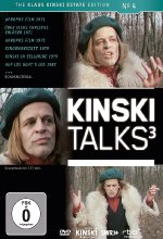 Klaus Kinski - Kinski Talks 3 DVD-Cover