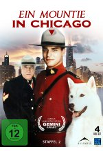 Ein Mountie in Chicago - Staffel 2  [4 DVDs] DVD-Cover