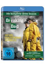 Breaking Bad - Season 3  [3 BRs] Blu-ray-Cover