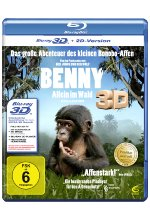 Benny - Allein im Wald 3D Blu-ray 3D-Cover