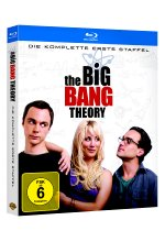 The Big Bang Theory - Staffel 1  [2 BRs] Blu-ray-Cover