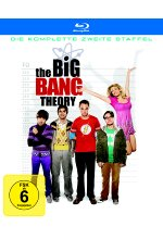 The Big Bang Theory - Staffel 2  [2 BRs] Blu-ray-Cover