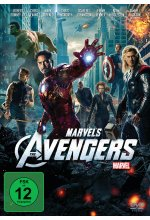 Marvel's The Avengers DVD-Cover