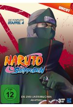 Naruto Shippuden - Staffel 4 - Uncut  [3 DVDs] DVD-Cover