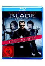 Blade: Trinity - Extended Version Blu-ray-Cover