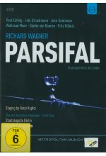 Richard Wagner - Parsifal  [3 DVDs] DVD-Cover
