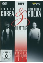 Chick Corea & Friedrich Gulda - The Meeting/Live Recording from the Münchner Klaviersommer 1982 DVD-Cover