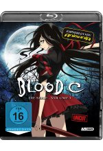 Blood C Series Part 1 Ep. 1-3 - Uncut Blu-ray-Cover