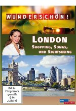 Wunderschön! - London - Shopping, Songs und Sightseeing DVD-Cover