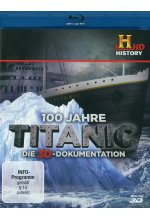 100 Jahre Titanic - Die 3D-Dokumentation Blu-ray 3D-Cover