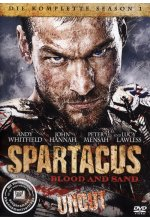 Spartacus: Blood and Sand - Die komplette Season 1 - Uncut [5 DVDs] DVD-Cover