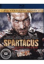 Spartacus: Blood and Sand - Die komplette Season 1 - Uncut [4 BRs] Blu-ray-Cover