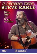 A Lesson with Steve Earle DVD-Cover