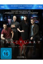 Sanctuary - Staffel 4  [3 BRs] Blu-ray-Cover