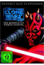 Star Wars - The Clone Wars - Staffel 4  [5 DVDs] DVD-Cover