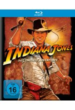 Indiana Jones - Complete Adventures  [5 BRs] Blu-ray-Cover