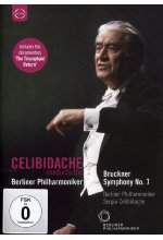 Sergiu Celibidache conducts the Berliner Philharmoniker - Bruckner Symphony No.7 DVD-Cover