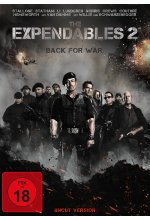 The Expendables 2 - Back for War - Uncut DVD-Cover