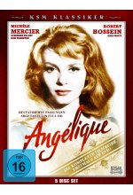 Angelique - Die Komplette Filmreihe  [5 DVDs] DVD-Cover