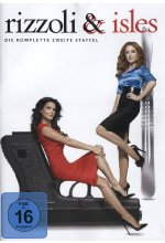 Rizzoli & Isles - Staffel 2  [4 DVDs] DVD-Cover