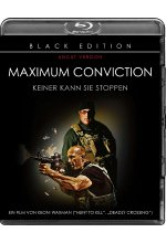 Maximum Conviction - Black Edition/Uncut Blu-ray-Cover