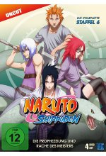 Naruto Shippuden - Staffel 6 - Uncut  [4 DVDs] DVD-Cover