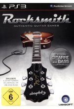 Rocksmith - Authentic Guitar Games (Spiel + Kabel) Cover