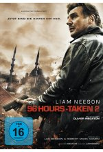 96 Hours - Taken 2 - Extended Cut DVD-Cover