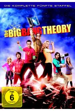 The Big Bang Theory - Staffel 5  [3 DVDs] DVD-Cover
