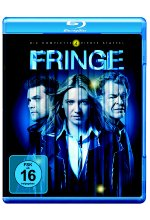 Fringe - Staffel 4  [4 BRs] Blu-ray-Cover