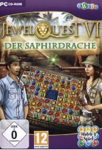 Jewel Quest VI - Der Saphirdrache Cover