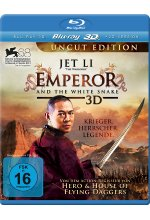 Emperor and the White Snake - Uncut Blu-ray 3D-Cover