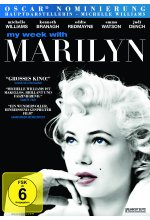 My Week with Marilyn DVD-Cover