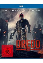Dredd  (inkl. 2D-Version) Blu-ray 3D-Cover