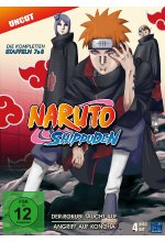 Naruto Shippuden - St. 7&8 - Uncut  [4 DVDs] DVD-Cover