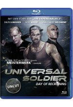 Universal Soldier - Day of Reckoning - Uncut Blu-ray-Cover