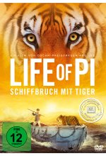 Life of Pi - Schiffbruch mit Tiger DVD-Cover