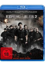 The Expendables 2 - Back for War - Uncut Blu-ray-Cover