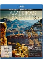Amerikas Südwesten - Vom Grand Canyon bis zum Death Valley Blu-ray 3D-Cover
