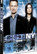 CSI: NY - Season 8/Box-Set 1  [3 DVDs] DVD-Cover