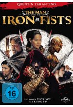 The Man With The Iron Fists DVD-Cover
