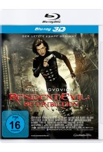 Resident Evil: Retribution Blu-ray 3D-Cover