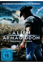 Alien Armageddon - Spaceship Troopers DVD-Cover