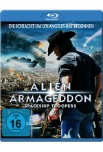 Alien Armageddon - Spaceship Troopers Blu-ray-Cover